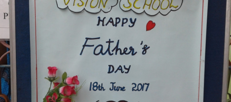 Fathers Day – 19.07.2017