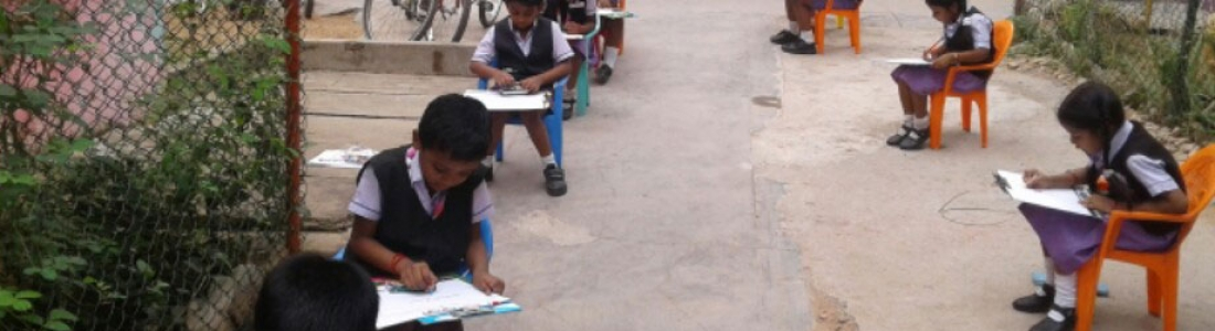 Drawing and Handwriting Competition